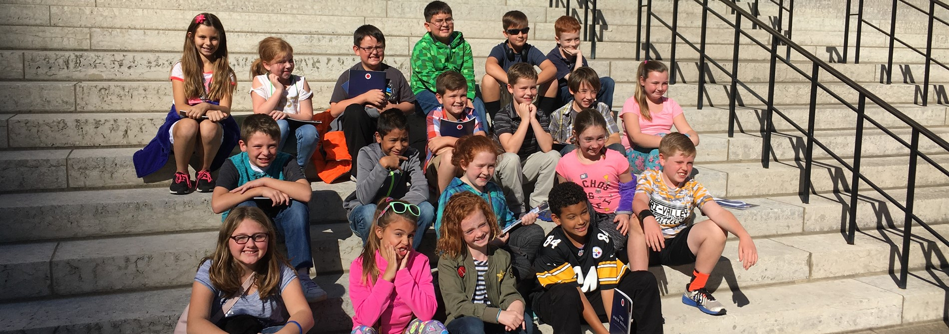 4th Grade at the State House