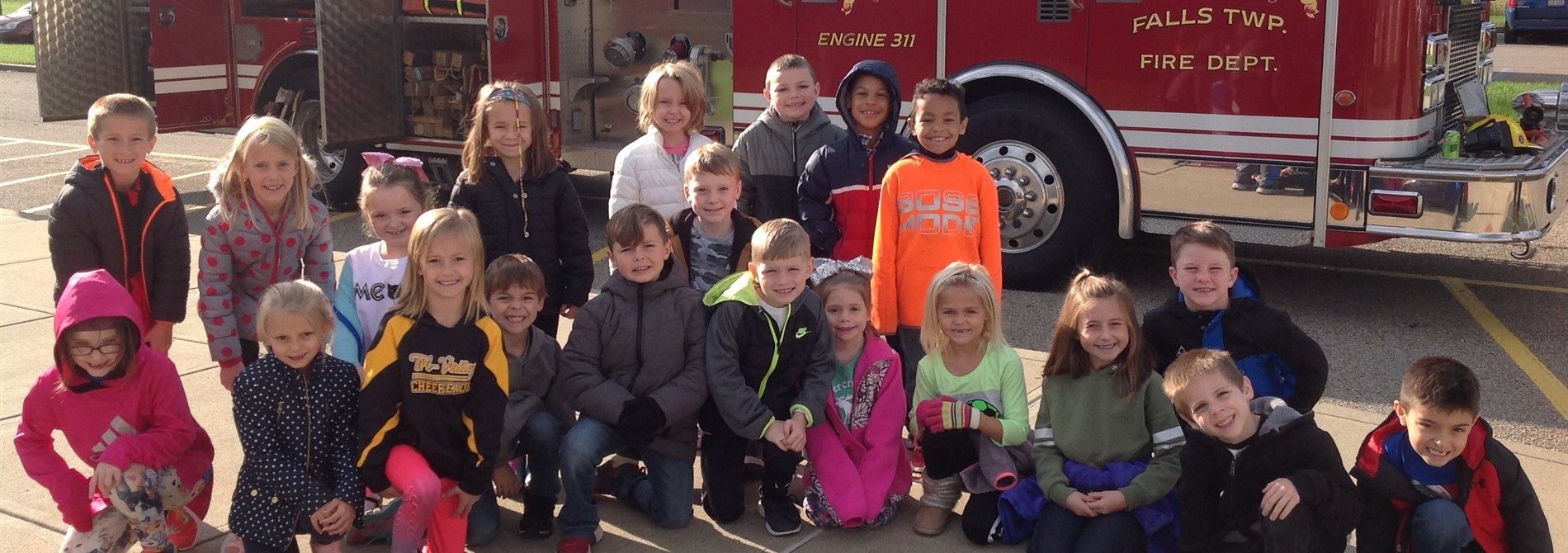 Thank you Falls Township Fire Department!