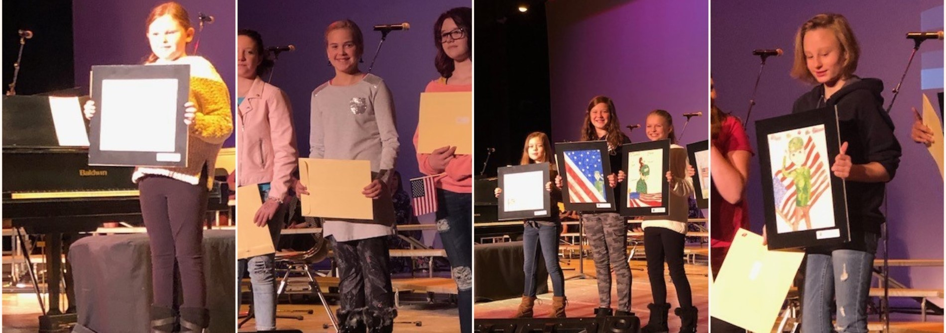 Muskingum County Veterans Day Essay and Artwork Contest Award Winners