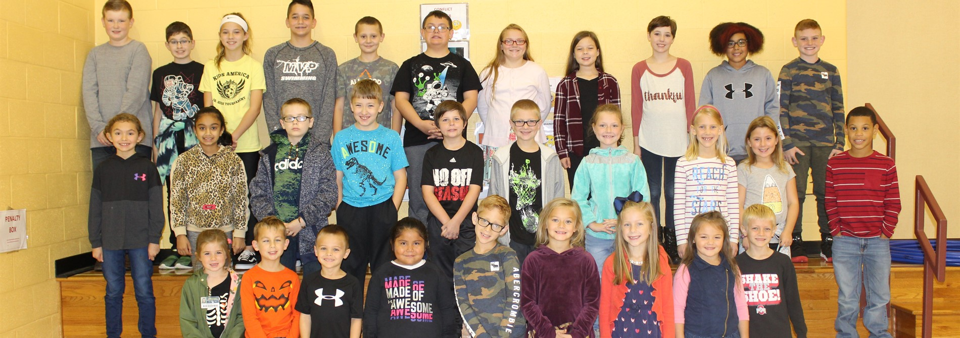 Congratulations to our October Super Scotties!