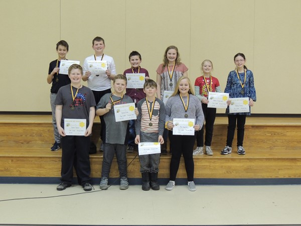 Top 10- Moving on to the District Spelling Bee