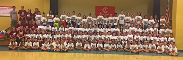Camp Invention Students & Staff