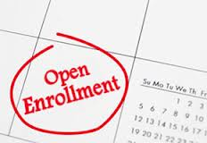 Open Enrollment Calendar