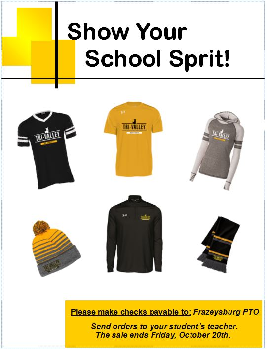 School Spirit T-Shirt Sale