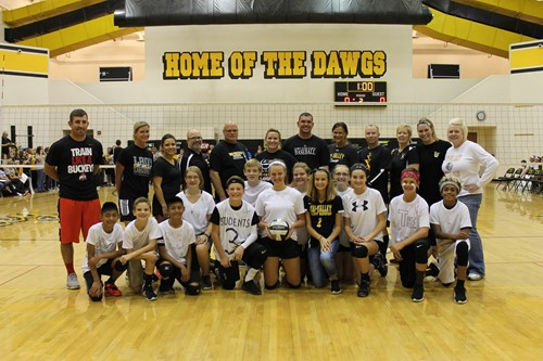 TVMS Students vs Staff Volleyball Game
