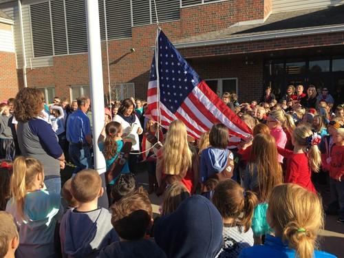 Nashport celebrates Veterans Day.