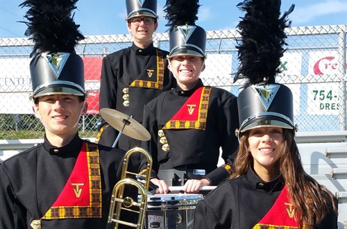 The new Band Uniforms!