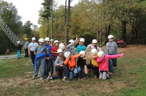 Dresden Elementary 5th Graders Field Trip to Camp Ohio