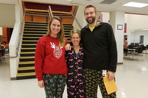 December Teachers of the month-Mrs.Suciu, Mrs. Ross & Mr.Braddock