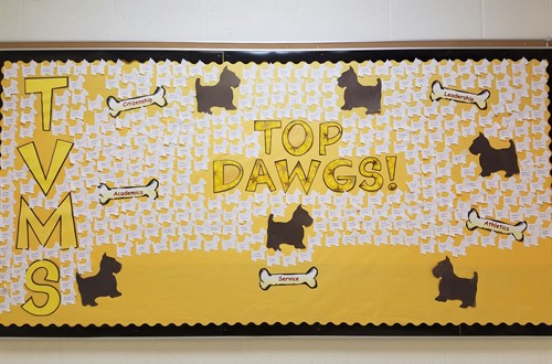 Congratulations to TVMS Students who earned Top Dawgs for the 2nd Grading Period!