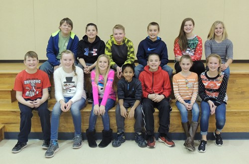 Dresden Elementary Spelling Bee Participants