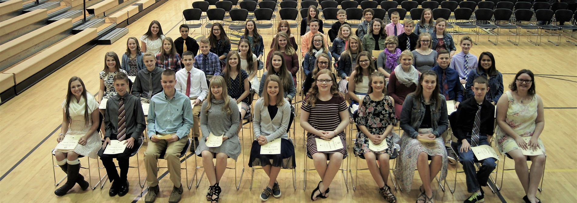 2017 Honor Society Inductees