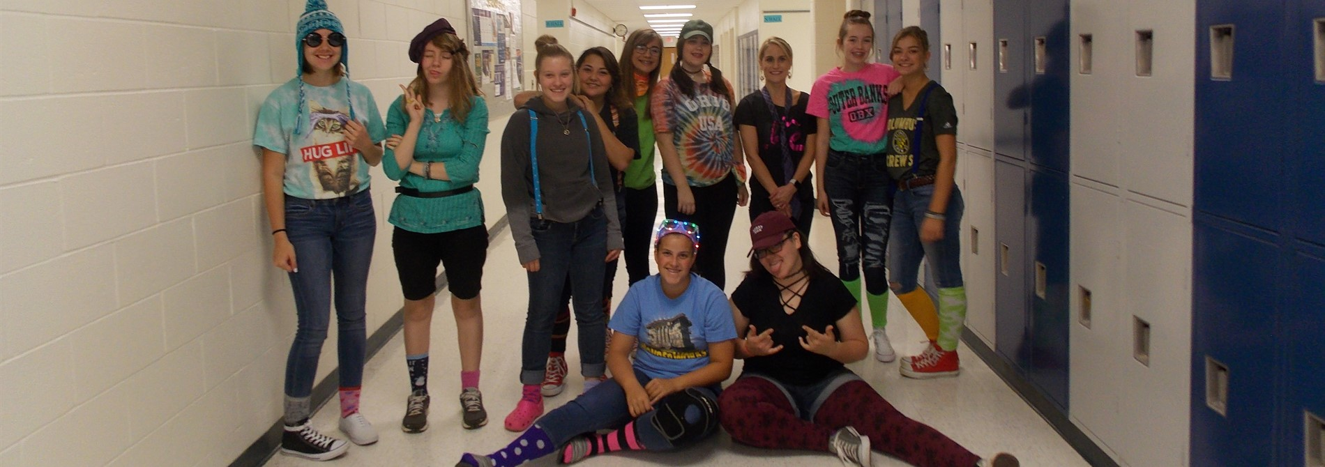 Spirit Week - Wacky Day