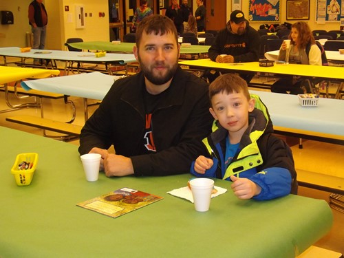 Donuts With Dad Celebration At Adamsville Elementary was a huge success!