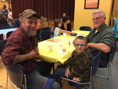 Grandpas are so special!  Donuts with Dads (and Grandpas!) Celebration at Adamsville Elementary!
