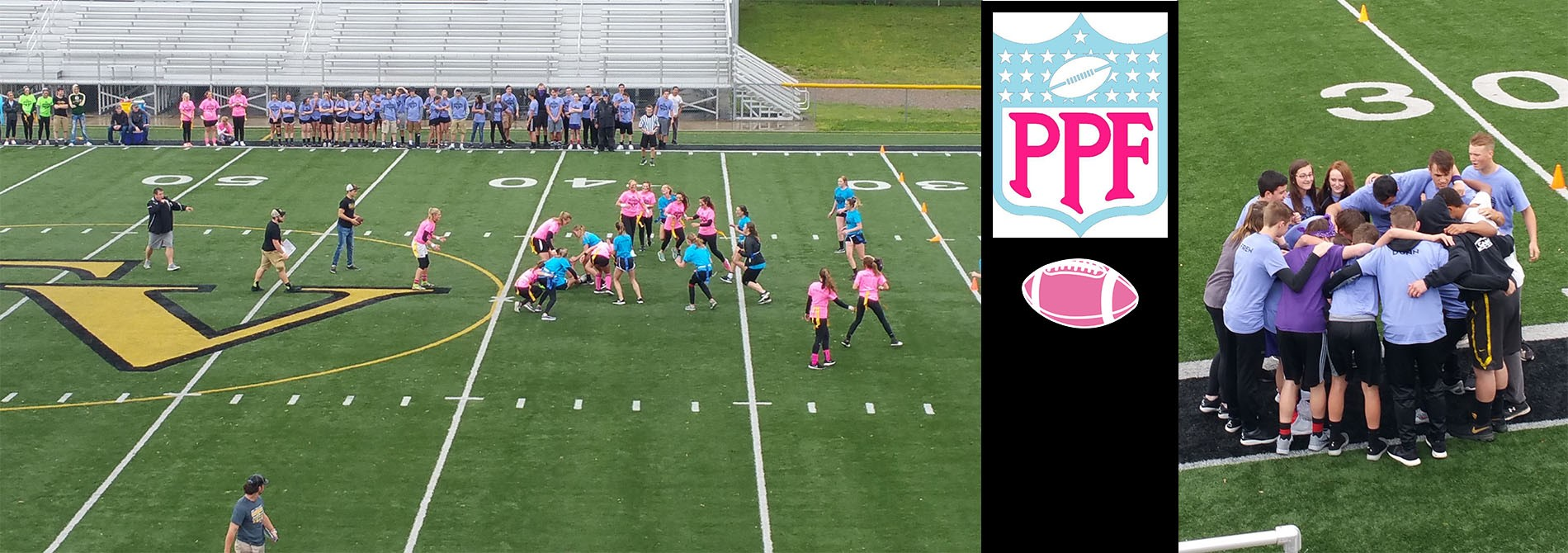 TVHS students celebrate the end of the year with a Powder Puff Football Game